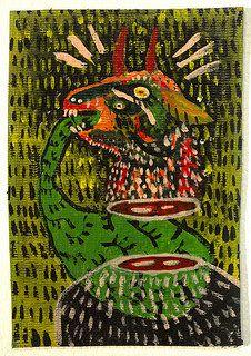 Vómito verde de Diego Mundarain