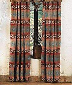 set curtains striped by southwestern southwest curtain product carstens drape badlands