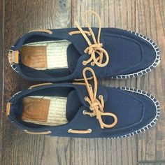 Tory Burch Blanton Espadrille Navy shoes Navy blue Tory Burch shoes. Only worn once! Size 9. Would also fit an 8 1/2. Tory Burch Shoes Sneakers