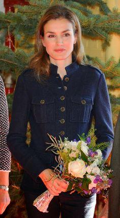 Princess Letizia attended Rastrillo 'Nuevo Futuro' in Madrid