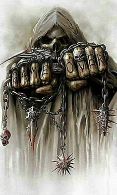 Our Website is the greatest collection of tattoos designs and artists. Find Inspirations for your next Skull Tattoo. Search for more Tattoos. Grim Reaper Art, Grim Reaper Tattoo, Dark Fantasy Art, Dark Art, Bauch Tattoos, Totenkopf Tattoos, Skull Pictures, Tattoo Ideas, Sugar Skull Art