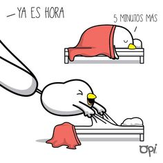 #opi #cute #kawaii #Mostropi #ilustración #5minutosmas #sueño #ModoPereza