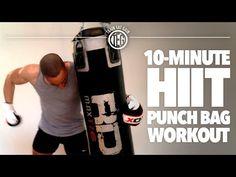 10-Minute HIIT Punch Bag Workout - TrainEatGain.com