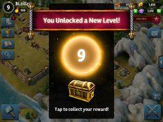 Siegefall   Tycoon Phase   XP Progression   UI HUD User Interface Game Art GUI iOS Apps Games   Gameloft   www.girlvsgui.com