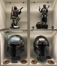 Boba Fett Mandalorian, Star Wars Helmet, Geek Room, Starship Concept, Star Wars Design, Toy Display, Star Wars Merchandise, Star Wars Wallpaper, Comic Movies