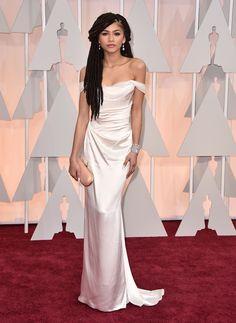 Zendaya Coleman looking elegant and sexy at the Oscars