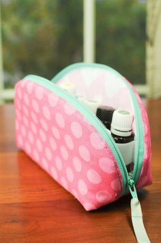 Essential Oil Case / Essential Oil Bag  Ready by needlebeandesigns