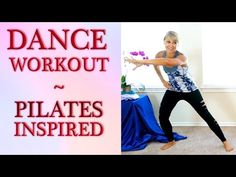 Fun Beginners Dance Workout For Weight Loss, At Home Cardio Pilates Dance Routine - YouTube