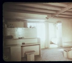 Harris residence, Los Angeles, Calif., 1942 :: Architectural Teaching Slide Collection