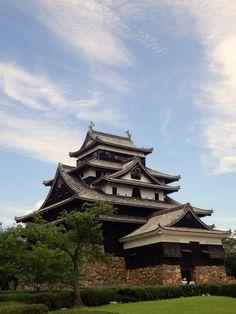 Matsue castle Song Jiang River [松江城]