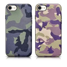 Original icarer XOOMZ Genuine Natural Cow Skin Cover + Silicone for iphone 7 plus 5.5'' camouflage phone case for iphone7 plus #Affiliate