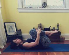 Yoga Poses for Digestion - Apanasana
