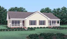 Ranch   Multi-Family Plan 45350
