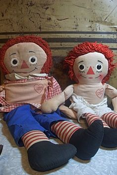 Raggedy Raggedy Ann & Andy, wouldn't you say?