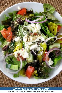 Greek salad recipe greek salad lemon vinaigrette and vinaigrette king cash and zeus keeping it healthy with this greek salad greek food recipesgreat forumfinder Choice Image