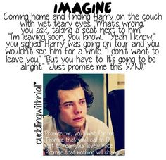 I'll just go cry my eyes out in a corner now, goodbye.! And Harry I'll always wait for you.! <3