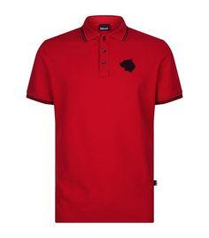 JUST CAVALLI Logo Polo Shirt. #justcavalli #cloth #