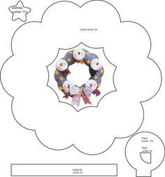 moldes de feltro - Pesquisa Google