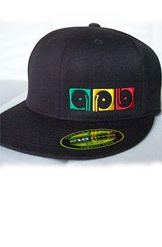 9ae05842351 210 Fitted Cap - Record Playaz Rasta. APB Clothing