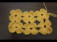 How to crochet The Daisy Stitch - YouTube ༺✿ƬⱤღ  http://www.pinterest.com/teretegui/✿༻