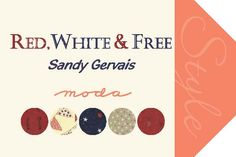 Hangtag Red, White & Free-Sandy Gervais