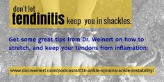 Learn more about this foot pain here:  http://www.docweinert.com/podcasts/010-ankle-sprains-ankle-instability/