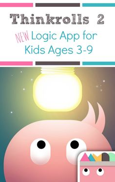 Awesome New Educational App for Kids~Thinkrolls Thought provoking logic puzzler for kids ages Educational Apps For Kids, Learning Apps, Educational Websites, Educational Activities, Learning Activities, Kids Learning, Activities For Kids, Learning Time, Logic And Critical Thinking