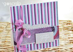a Thank-you card by Anula #GOscrap #scrapbooking