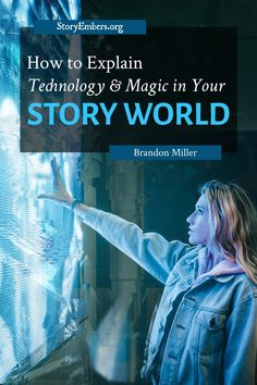 Readers don't want to trudge through chunks of info dumps. Learn how to explain technology and magic without dragging the plot in Brandon's article. Creative Writing Tips, Book Writing Tips, Writing Help, Writing Prompts, Writing Corner, Writing Humor, Writing Goals, Science Fiction, Fiction Writing