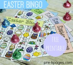 Printable Easter Bingo Game