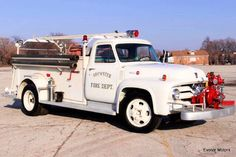 1956 Ford Pumper.....work horse of the small Fire Departments all over the US....