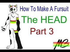 How To Make a Fursuit Tutorial- The Head (Part 3) - YouTube