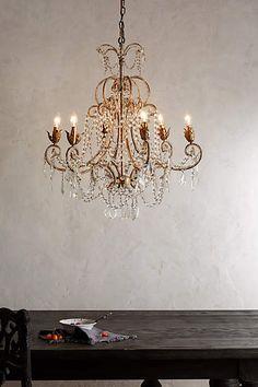 Belle epoque chandelier