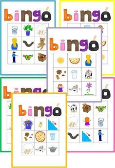 A játékot eredetileg az ovis korosztálynak szántam, de ahogy készítettem, eszembe jutott több terület is, ahol nagyobbak is hasznát vehetik majd. Egy átlagos gyermek szókincse 3 -5 éves kora között fejlődik a legintenzívebben. Mire 5 éves lesz, már anyanyelve teljes palettáját ismeri, megfelelően használja az igeidőket, és szókincse elég gazdag. . . » Bingo, Kids Learning, Acting, Printables, Print Templates