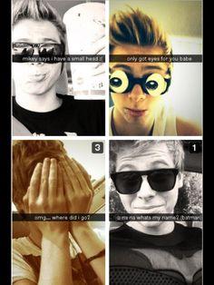 Luke hemmings snap chats