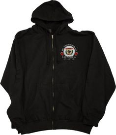 West Virginia Drinking Club, Falls View Chapter | Zip-Up Sweatshirt-Medium by Ann Arbor T-shirt Co.Take for me to see Wes
