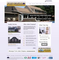 Home improvement contractor SEO Website Design at http://www.JulienDrapeau.net