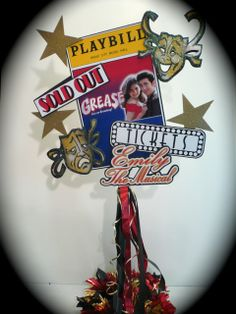 Music Party Ideas | Musing with Marlyss: NY Broadway Theater Playbill Party Decorations