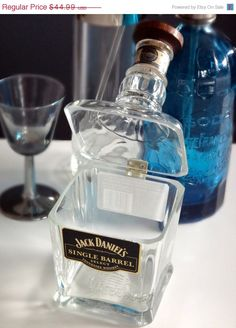 SALE TODAY ONLY Jack Daniels Single Barrel Hinged por Rehabulous