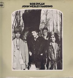 Bob Dylan – John Wesley Harding – CBS 63252 – A2/B2 Mono LP Vinyl Record