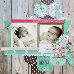 *Made With Love* NEW AC POLKA DOT PARTY - Scrapbook.com