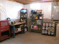 organized basement workshop   Contact Hope for a basement makeover that will make all your family and friends jealous... Email:  Hope@appleadayusa.org Phone:  (845) 986-4416  Web:  www.appleadayusa.org and .com