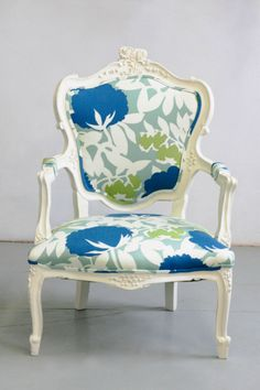 Beautiful and peppy refurbished chairs by Wild Chairy