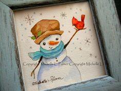 Michelle Palmer: Watercolor originals
