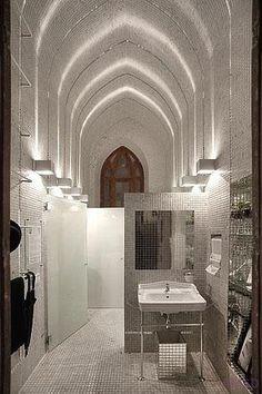 """Mostra """"morar mais por menos 2010"""" banheiro masculino - V1"""