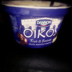 #heaven #oikos #yogurt #nothingisbetterthanthis