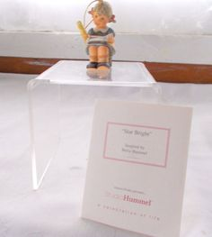 Berta Hummel Goebel Star Bright Ornament Figurine + COA