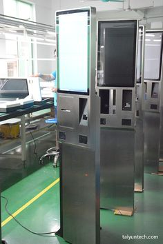 24 Inch Restaurant Android System Self Order Multi Touch Payment Kiosk With Thermal Printer Digital Kiosk, Digital Signage, Electric Box, Kiosk Design, Thermal Printer, Self Service, Multi Touch, Totems, Sheet Metal