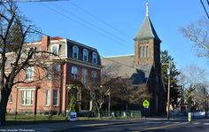 St. Mark's Church and Rectory on Radcliffe Street, founded in 1844.