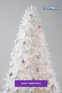 #NewYearNewMe! Start the New Year with a clean slate with a gorgeous white Christmas tree from Treetopia.Shop today! . . . #Treetopia #newyear #happynewyear #goals #whitechristmas #whitechristmastree #nye #style #christmas #happy